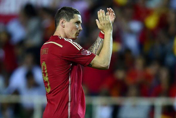 En este recuento no podía faltar el futbolista español Fernando Torres.