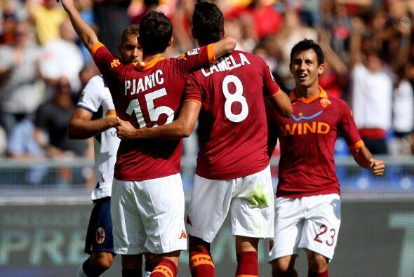Sólo como una propuesta de la redacción de Univision Deportes, la Roma p...