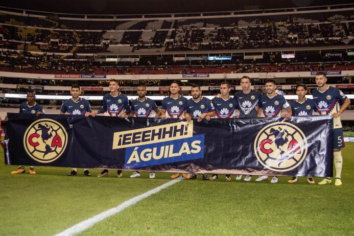 Estadio Azteca: 19,081 espectadores