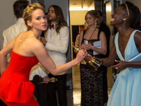 Catfight!!!, Jennifer Lawrence llegó a reclamar lo que ella cree...