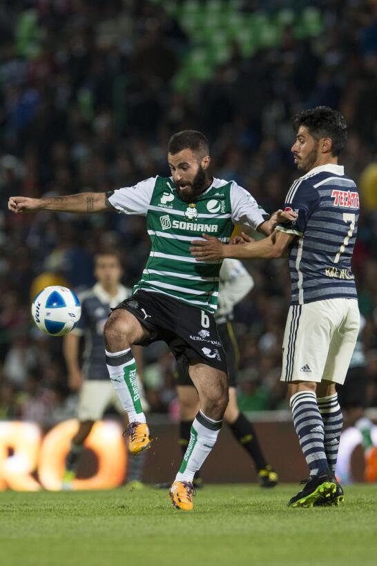 Santos Laguna fue campeón en el Clausura 2012 y el español Marc Crosas f...