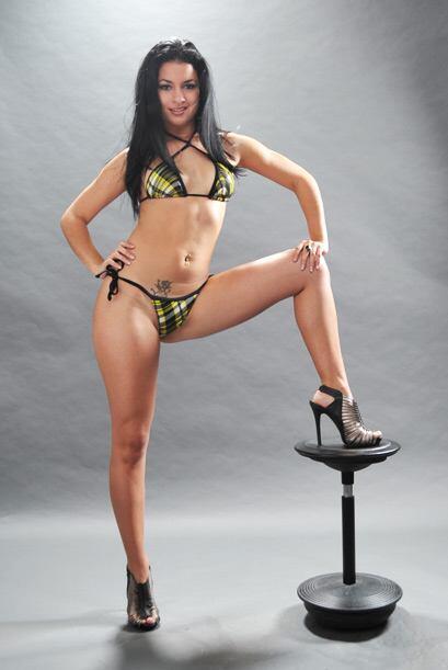Para Lianet es muy importante lucir bella, pues se dedica a la actuación.