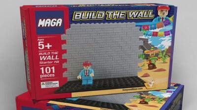 Polémica por juguete de construcción del muro fronterizo