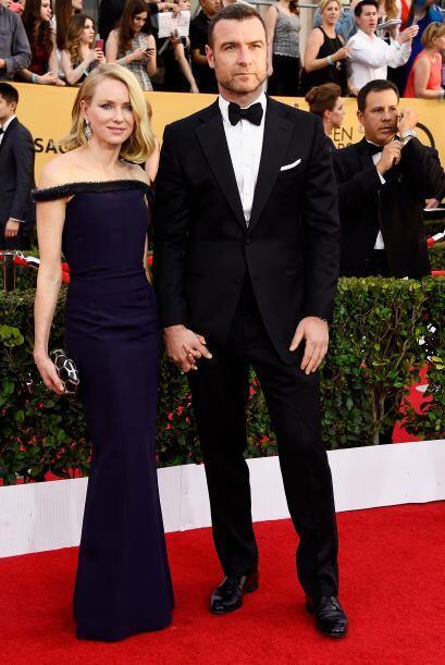 Otra parejita famosa de Hollywood, Naomi Watts y Liev Schreiber.