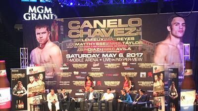 Cuatro leyendas del boxeo mexicano estuvieron juntos en Las Vegas