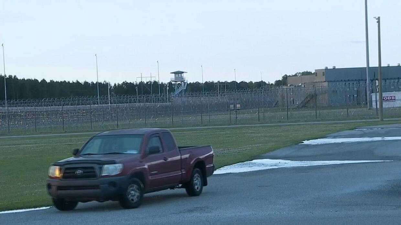 Imagen de la prisión de máxima seguridad en Carolina del Sur en la que m...
