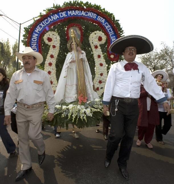 Santa Cecilia procesión