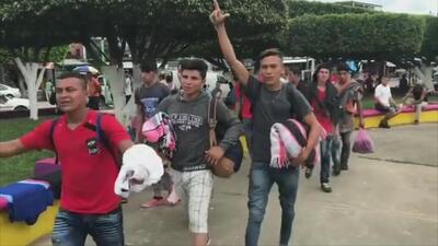 Peña Nieto dice que México no permite el ingreso al país de manera irregular y violenta