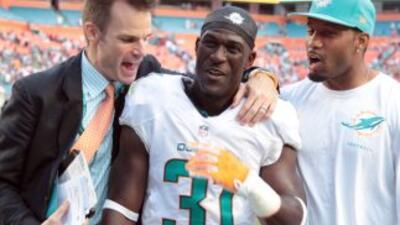 Michael Thomas fue una figura crucial para el triunfo de Dolphins ante P...