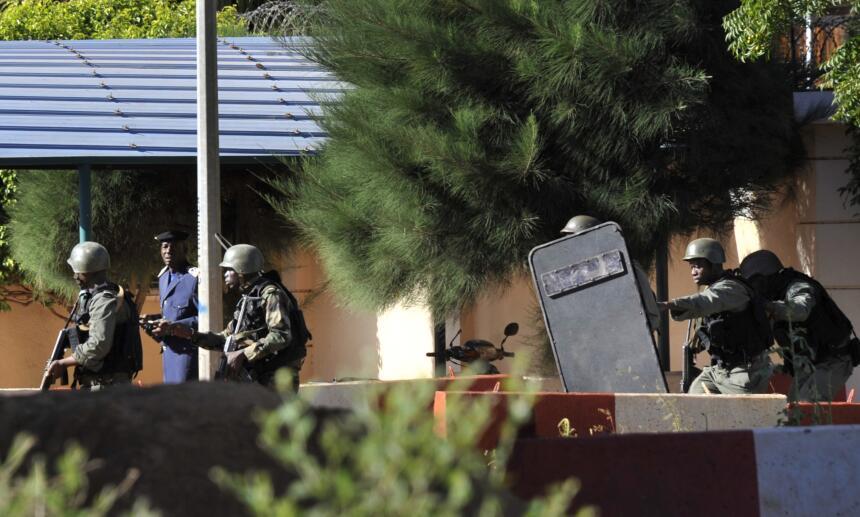 Toma de rehenes en Mali