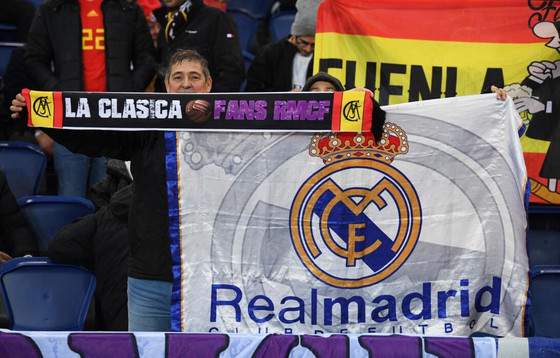 Los aficionados del Paris Saint-Germain y del Real Madrid han puesto el...