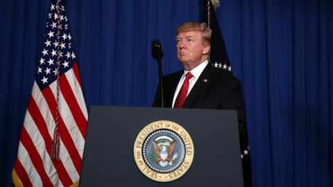 Siria, el primer conflicto armado de Trump como presidente