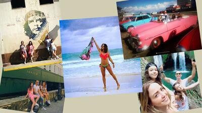 Andrea Legarreta vacaciones Cuba