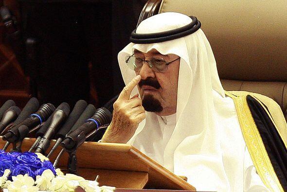 El rey de Arabia Saudia, Abdalá bin Abdelaziz, anuló la se...