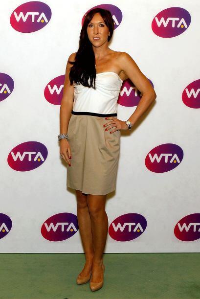 La serbia Jelena Jankovic, octava mejor del mundo.