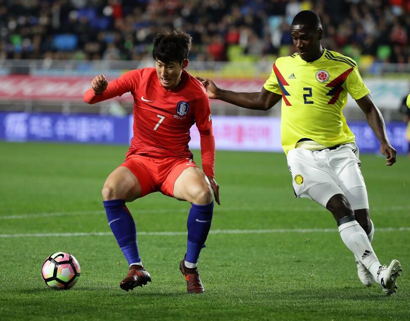 Colombia tropezó en su visita a Corea del Sur gettyimages-872443000.jpg