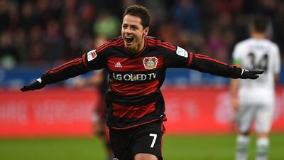 Gol de Hernández fue elegido como el mejor de la Bundesliga