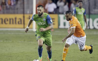 Clint Dempsey y Alex, protagonistas del ataque en Seattle y Houston.