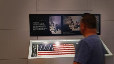 Nueva York recupera y protege la bandera que transmitió esperanza y fuerza