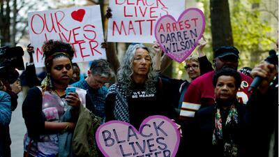 Las protestas de Ferguson se extendieron a todo el país