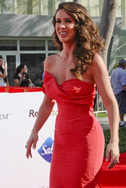 El rojo parece ser uno de los colores favoritos de Bracamontes, pues en...