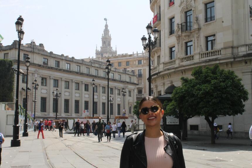 Estas son las fotos más bellas de Clarissa Molina en Sevilla IMG_4351.JPG