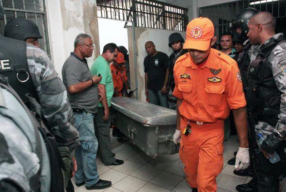 El motín de la cárcel de Pedrinhas, en el estado de Maranhao, en el nore...
