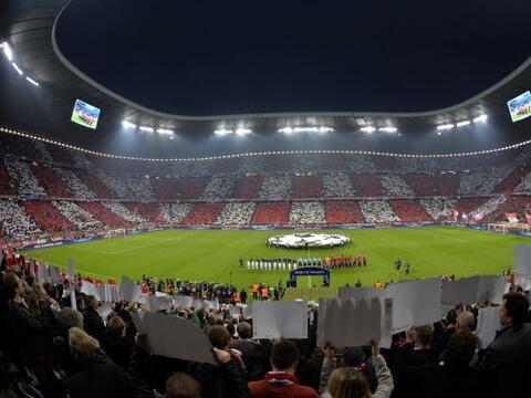 El Allianz Arena fue la sede de un partido de pronóstico reservad...