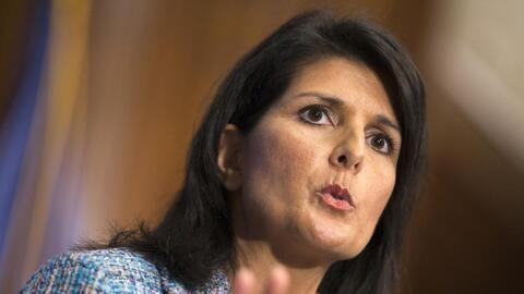 Donald Trump elige a Nikki Haley como embajadora ante la ONU