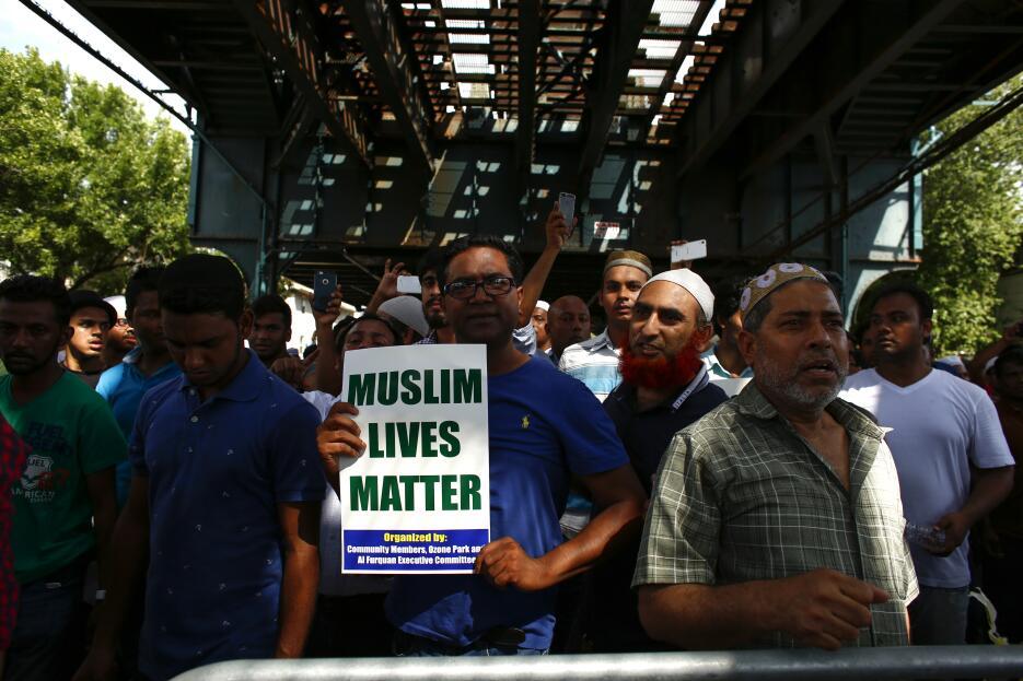 """""""Las vidas de los musulmanes también importan""""."""