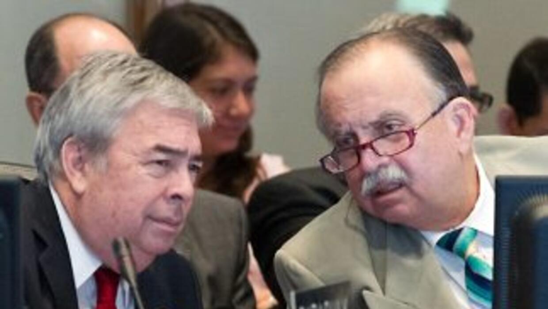La gráfica muestra al ex embajador de Panama ante la OEA, Guillermo Coch...