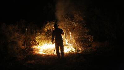 Incendio en CA