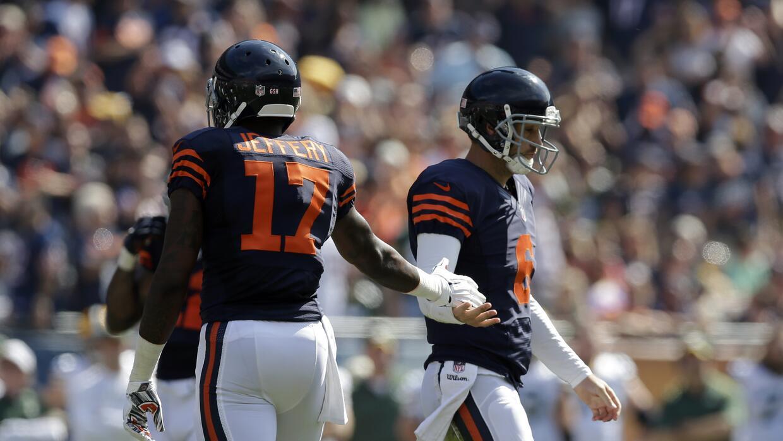 Cutler y Jeffery fuera contra Seattle.