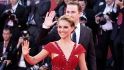 """Natalie Portman y su """"Black Swan"""" en Venecia"""