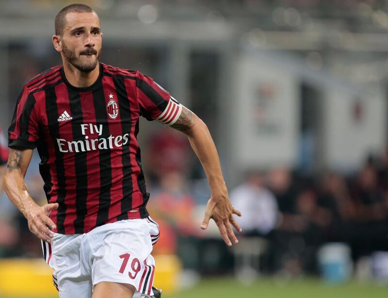 1. Leonardo Bonucci (A.C. Milan) - 7,5 millones de euros