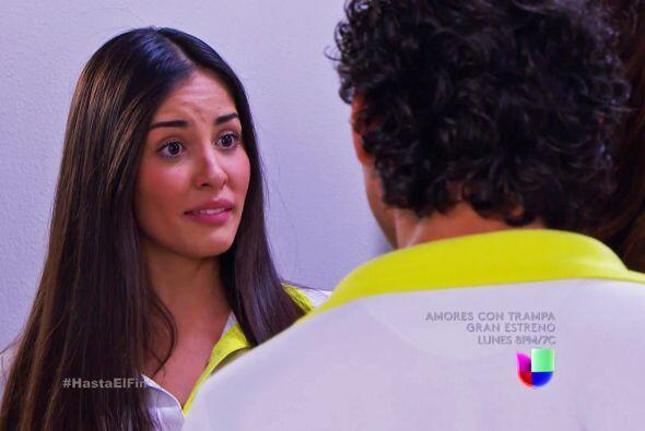 Marisol cumplió su promesa y regresó a pesar de ver a Dani y Lucas junti...