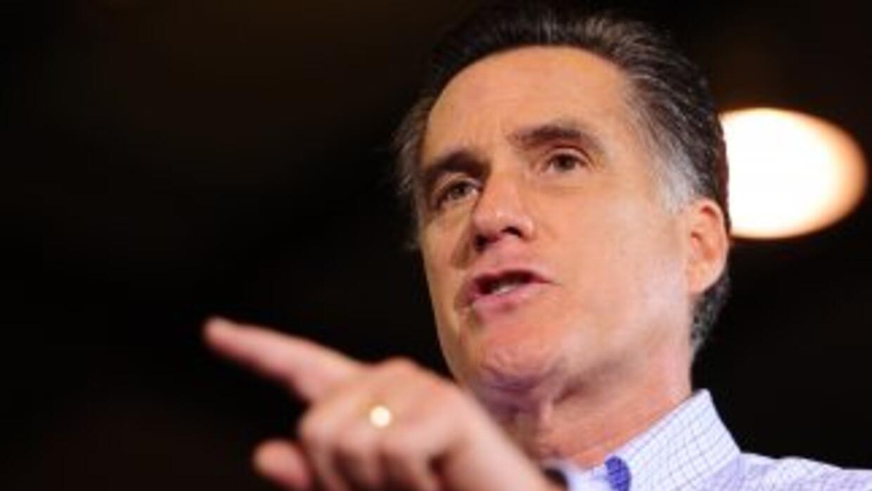 Mitt Romney criticó a Barack Obama y dijo que 'está alejado de la realid...