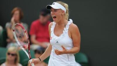 A Caroline Wozniacki se le sigue negando coronarse en un Grand Slam.