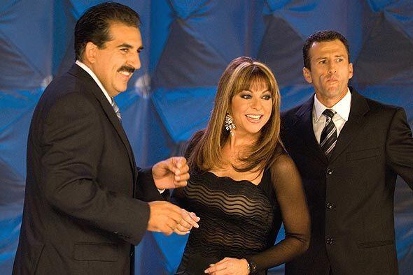 Fernando Fiore, Rosana Franco y Felix Fernández de 'La Republica...