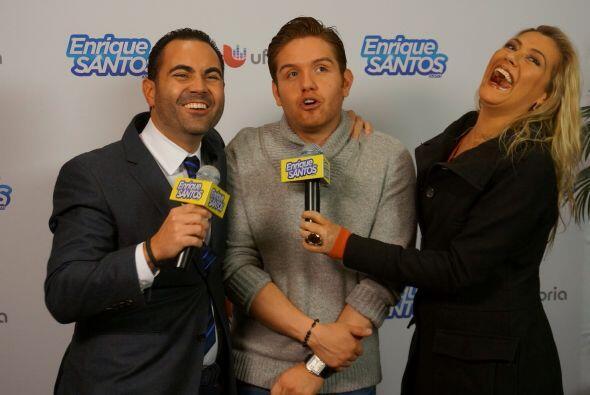 Máxima estuvo presente en el backstage de los Latin Gramys donde Enrique...