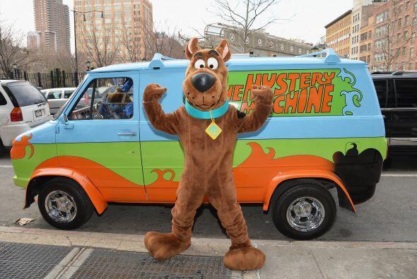 El personaje de las caricaturas 'Scooby Doo' participó en un evento en e...