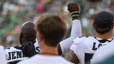 Donald Trump vuelve a criticar las protestas en la NFL