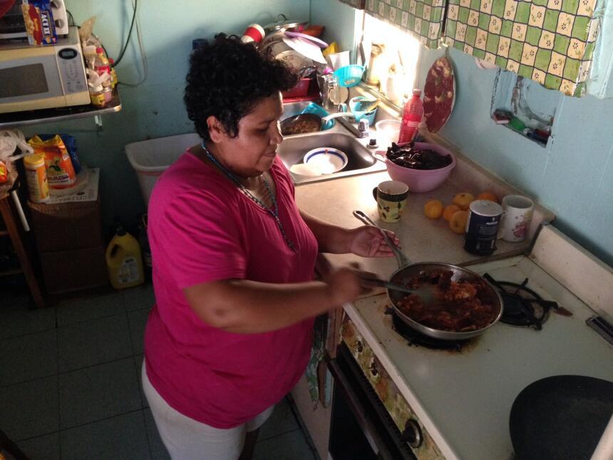 María Arredondo ha vivido en el St. Anthony Trailer Park desde hace 25 a...