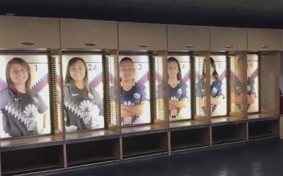 Gigante sorpresa para las jugadoras del América: pusieron sus fotos en e...