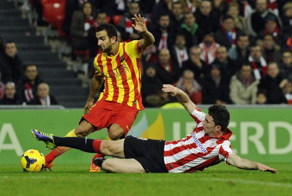 El cuadro catalán parecía dominar la primera parte, pero le faltaba conc...