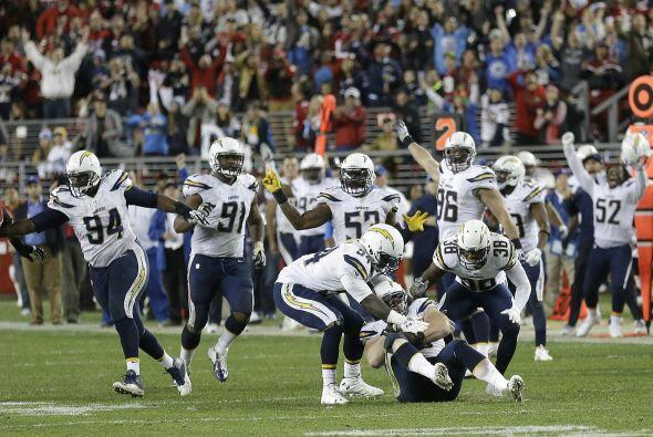 17.- San Diego Chargers (AP-NFL).