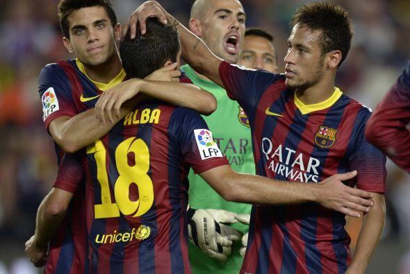 Pero el tiempo no alcanzó para algo más y el Barcelona lograba su objeti...