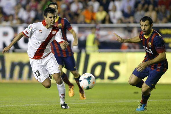 Rayo jugó de tú a tú al Barcelona y tuvo las mejores oportunidades en lo...