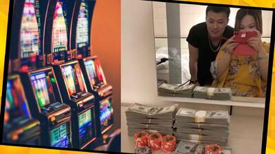 (FOTOS) Hombre dejó a su novia por otra tras ganar 500,000 dólares con su dinero en un casino