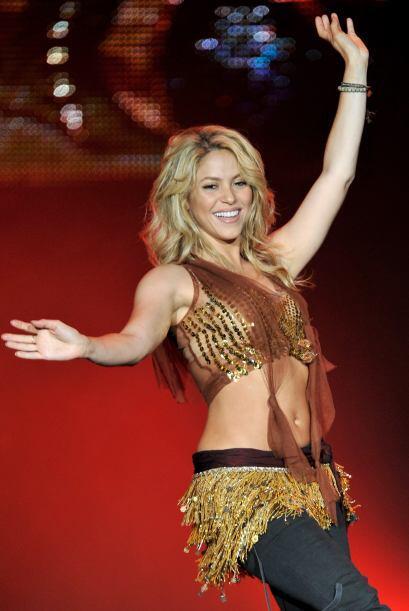 """Shakira: """"Hola chicos! Un poco tarde en el juego, pero estoy empezando a..."""